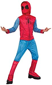 Marvel - Disfraz de Spiderman Sweats para niños, infantil 5-6 años (Rubie