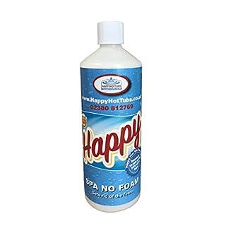 Happy Hot Tubs 1l No Foam Away Anti Foamer Fix Foaming Chemicals Hot Tub Spa Hottub Spas