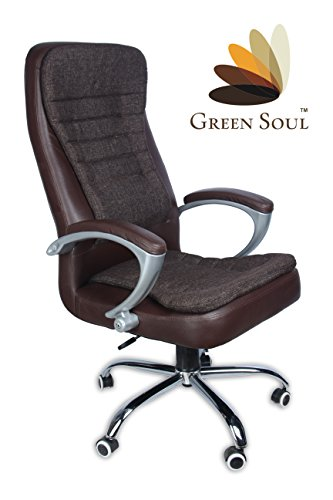 (Akshaya Tritiya Offer Save Rs. 7000) Best Seller High-Back Office Chair (Brown)