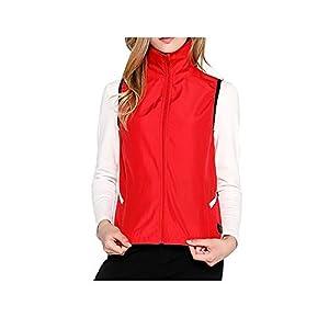 Damen Winter Heizweste/Elektrische Warme Kleidung, USB Heizung-Für Camping, Wandern, Skifahren Und Angeln,Black-2XL