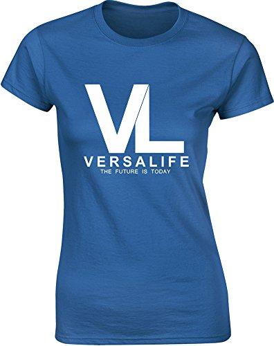genetics-corporation-mesdames-t-shirt-imprime-bleu-blanc-2xl-98-102cm