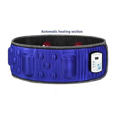 Ceinture Vibrante Minceur Intelligente Chauffage Ceinture De Massage Masseur Électrique , 4