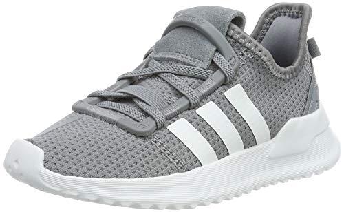 adidas Jungen U_Path Run EL C Laufschuhe, Mehrfarbig (Grey/FTWR White/Onix G28121), 28 EU