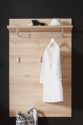 Avanti trendstore - duo - pannello guardaroba in laminato di faggio nobile, dimensioni: lap 85x133x27 cm