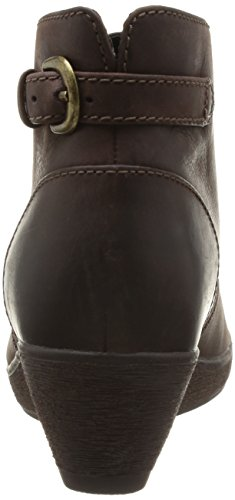 Clarks Nataline Emmi, Boots femme Marron (Dark Brown Lea)