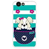 Hapdey Flexible silicone case for [ZTE Blade A512] with