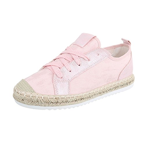 Ital-Design - Low-top Donna Rosa B754S-BL