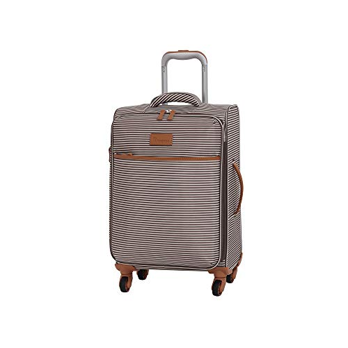 it luggage Beach-Stripes 4 Wheel Lightweight Semi Expander Suitcase Cabin with TSA Lock Koffer, 56 cm, 42 liters, Mehrfarbig (Earth Stripes)
