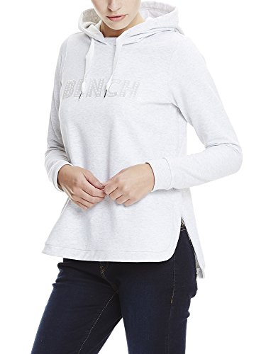 Bench Damen Kapuzenpullover Hoody with Print Grau (Summer Grey Marl MA1026)