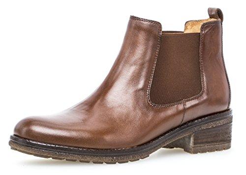Rosa Sattel Schuhe - Gabor Damen Chelsea Boots 91.610,Frauen Stiefel,Halbstiefel,Stiefelette,Bootie,Schlupfstiefel,hoch,Blockabsatz
