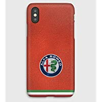 Alfa Romeo leather Cover Schutzhülle für iPhone XS, XS Max, XR, X, 8, 8+, 7, 7+, 6S, 6, 6S+, 6+, 5C, 5, 5S, 5SE, 4S, 4,