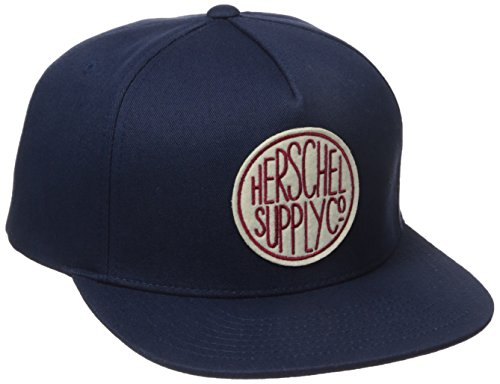 herschel-supply-co-azul-marino-scope-snapback-cap
