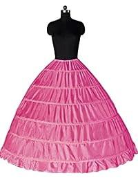 Babyonlinedress Femme Jupon de Mariée/Bal Longue Elastique 6 Cerceaux en Polyester