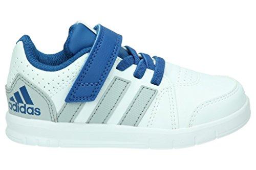 adidas Lk Trainer 7 El I, Baskets Basses Mixte Bébé Multicolore - Blanco / Azul / Gris (Ftwbla / Eqtazu / Onicla)