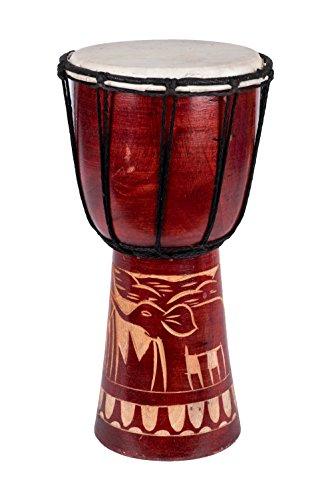 20cm Djembe Elefant Djembe Trommel Bongo Drum Handtrommel Buschtrommel Percussion Kinder Fair Trade T1