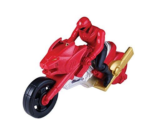 Power Rangers Súper Megaforce Moto de ataque, color rojo (Bandai 38071)