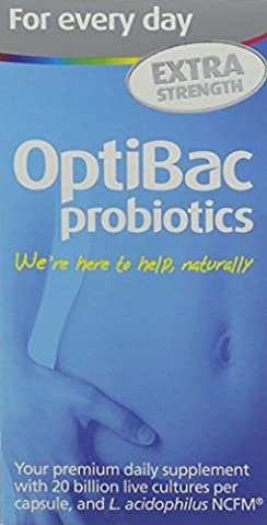 OptiBac Probiotics For Every Day Extra Strength - Pack of 90 Capsules