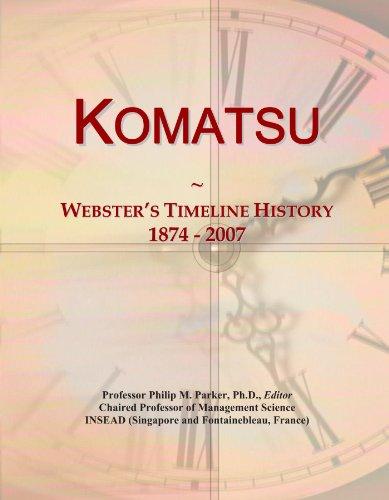 komatsu-websters-timeline-history-1874-2007