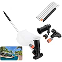 PopHMN Jet Vacuum Cleaner, Underwater Cleaner Pool Cleaning Equipment Tool For Swimming Pool Pond Fountain