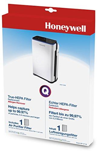 Honeywell Echter HEPA-Ersatzfilter HRF-Q710E für die Anwendung im Luftreiniger HPA710WE, 1 Stück (Luftreiniger Von Honeywell)