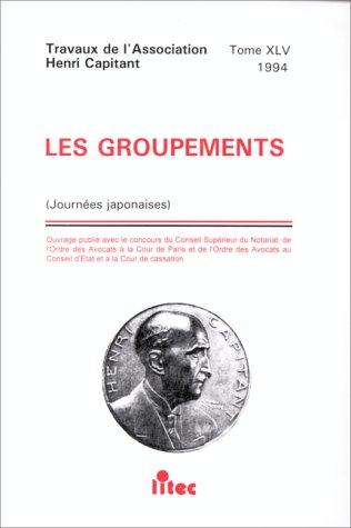 Les groupements, 1re édition (ancienne édition)
