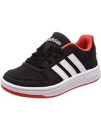 half off 82766 5b3c8 adidas Hoops 2.0 K Chaussures de Basketball Mixte Enfant