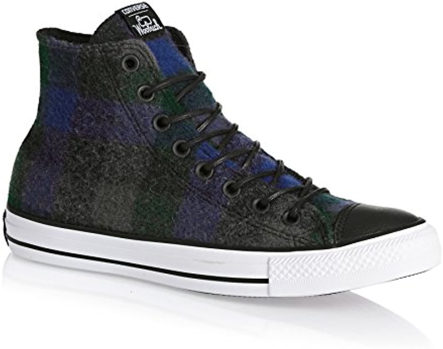 Converse Trainers   Converse Chuck Taylor All Star HI Shoes (Wool)   Grey