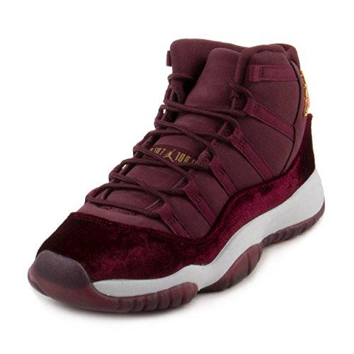 Nike Air Jordan 11 Retro Heiress Velvet RL 852625-650, Damen Basketballschuhe rot 39 EU (Jordan 11 Retro-schuhe Für Frauen)