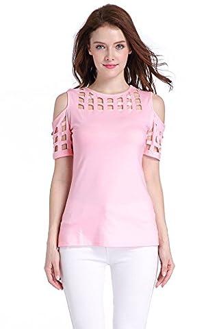 ICOCOPRO - T-shirt - Femme - rose - X-Large