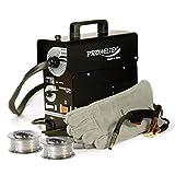 PROWELTEK Poste a souder PROMIG100 - Livré avec 2 bobines de fil fourréØ 0,9 mm et gant de soudeur anti chaleur