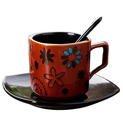Schöne Keramik Geschenk Kaffeetasse Tee Tasse Milch Tasse für Home/Office/Restaurant-A10