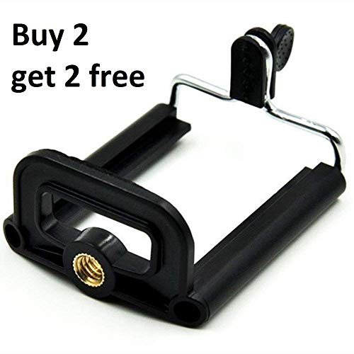 Aorna Camera Stand Clip Bracket Holder Tripod Monopod Mount Adapter for Mobile Phones