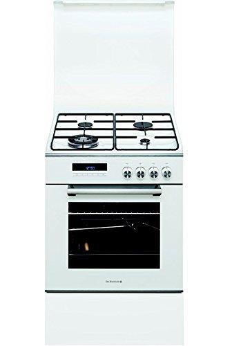 De Dietrich DCM1550W Cuisinière Cuisinière à gaz A Blanc four et cuisinière - Fours et cuisinières (Cuisinière, Blanc, Rotatif, Tactil, Acier, En haut devant, Électronique)