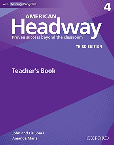 Portada del libro American Headway 4. Teacher's Book 3rd Edition (American Headway Third Edition)