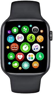 Tuni Smartwatch W46 Men – IP68 impermeabile – 1,75 pollici – temperatura corporea, pressione sanguigna, battit