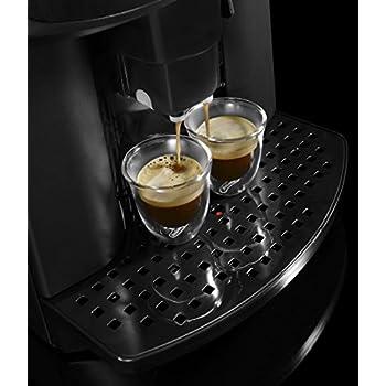 De'Longhi Caffe' Corso Fully Automatic Bean to Cup Coffee Machine,Cappuccino, Espresso Coffee Maker, ESAM2800.SB, Silver and Black
