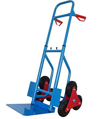 Treppensackkarre Handkarre Stair Trolley Blau max. 200 kg Tragkraft