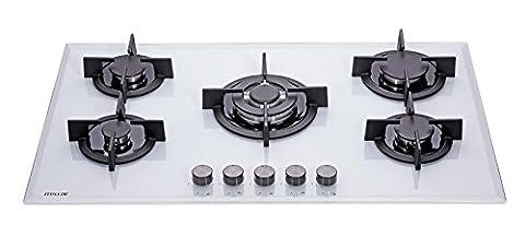 Table Blanc Cuisson - Millar GH9051PW Plaques de cuisson en Verre