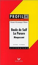 Profil d'une oeuvre : Boule de suif, La parure, Maupassant