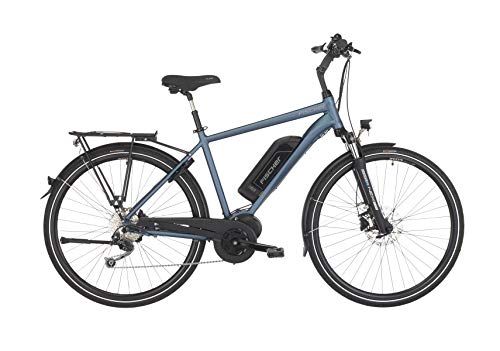 "FISCHER Herren - E-Bike Trekking ETH 1820 (2019), saphirblau matt, 28\"", RH 50 cm, Mittelmotor 50 Nm, 48V Akku"