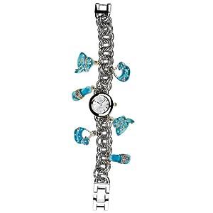 Eton 2945L-AQ – Reloj analógico para Mujer de Otros Materiales Plata
