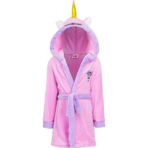 LOL Albornoz Unicornio Color Rosa niña Tallas 3/4-5/6-7/8-9/10