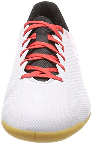 adidas X Tango 17.4 In, Chaussures de Football Homme Gris (Grey/real Coral S18/core Black)
