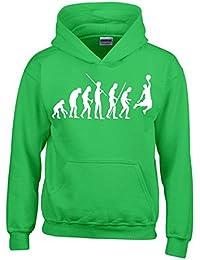 BASKETBALL Evolution Kinder Sweatshirt mit Kapuze HOODIE Kids Gr.128 - 164 cm