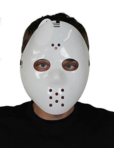 Y MASKE MIT BEFESTIGUNGS GUMMI UND AUGEN LÖCHERN =VON ILOVEFANCYDRESS®=ERHALTBAR IN VERSCHIEDENEN STÜCKZAHLEN = SUPER FÜR HALLOWEEN ODER FASCHING UND KARNEVAL MASKEN VERKLEIDUNGS KOSTÜME= 24 MASKEN (Das Schweigen Der Lämmer Kostüm Maske)