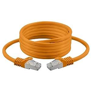 Cavo ethernet cat 7, 600MHz/100& # X200E; & # x3a9; senza alogeni per streaming/più/TV/IPTV Media Player/ricevitori satellitari/server di rete/Desktop PC/Super Fast Ethernet cavo