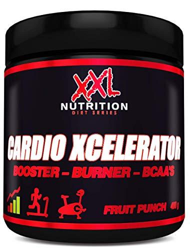 XXL Nutrition Cardio Xcelerator | Fatburner Booster Ausdauer | Green Apple 400g