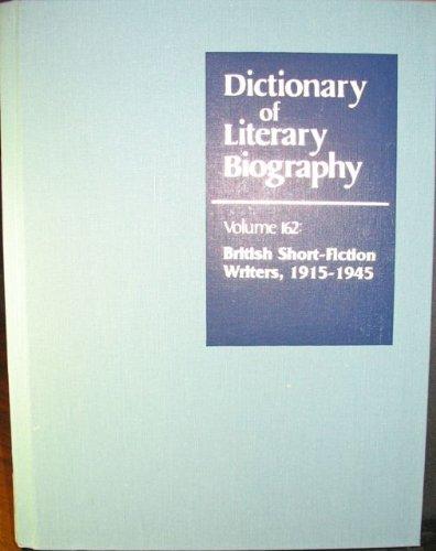 British Short Fiction Writers 1915-1945 PDF Books
