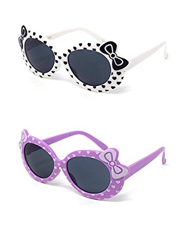 chen 1 White 1 lila stilvolle Hello Kitty Stil UV400 Sonnenbrille Schattierungen (Hello Kitty Begünstigt)