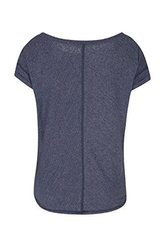 Mountain Warehouse T-shirt Femme Sport Yoga Danse Effet Oversize Respirant Bleu Marine